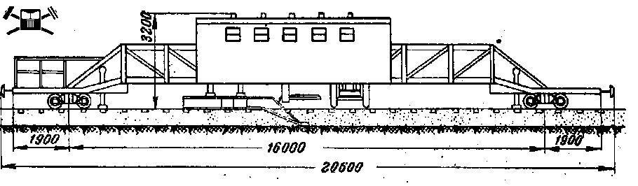 Балластер ВНИИТП, схема
